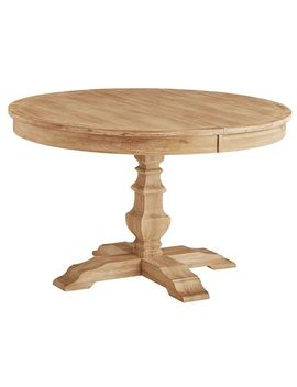 Natural Stonewash Round Dining Tables by Bradding Collection