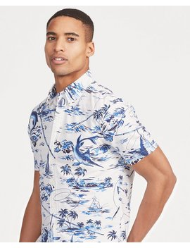 Classic Fit Tropical Shirt by Ralph Lauren