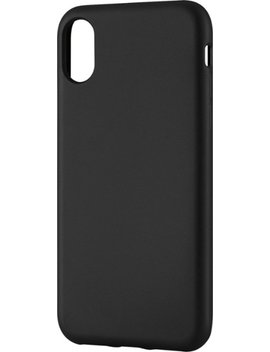 Soft Shell Case For Apple® I Phone® X And Xs   Black by Insignia™