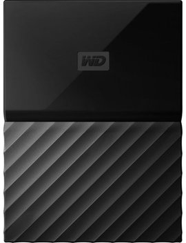 My Passport 2 Tb External Usb 3.0 Portable Hard Drive With Hardware Encryption   Black by Wd