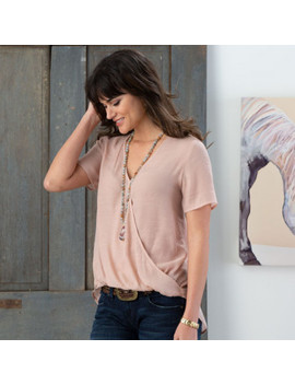 Harvest Moon Pink Top by Rod's