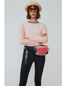 Long Sleeved T Shirt Blossom Pink by Acne Studios