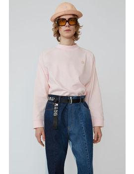 Light Sweatshirt Blossom Pink by Acne Studios