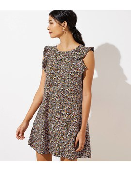 Floral Flutter Swing Dress by Loft