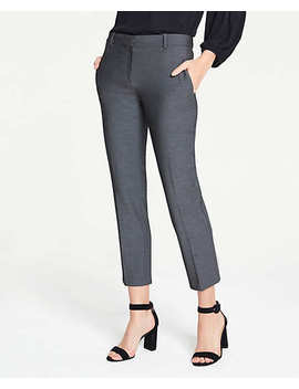 The Ankle Pant In Bi Stretch   Curvy Fit by Ann Taylor