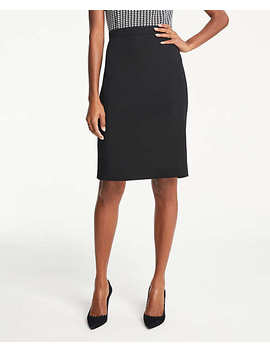 Bi Stretch Seamed Pencil Skirt by Ann Taylor