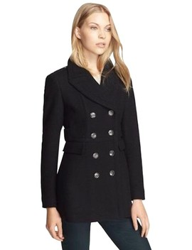 Navy Womens Wool Cashmere Peacoat Jacket Us Eu 44 Coat by Burberry