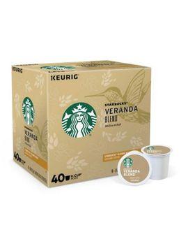 Keurig® K Cup® Pack 40 Count Starbucks® Veranda Blend™ Blonde Coffee by Bed Bath And Beyond