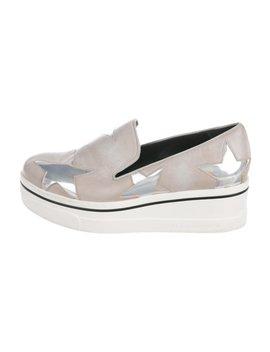 Vegan Round Toe Slip On Sneakers by Stella Mc Cartney