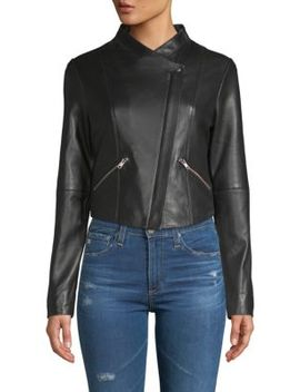 Leather Jam Jacket by Veda
