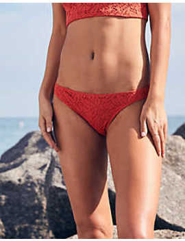 Aerie Crochet Cheeky Bikini Bottom by American Eagle Outfitters