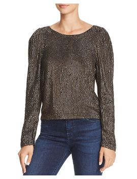 Bailyn Studded Top by Joie