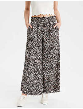 Ae Leopard Print Pants by American Eagle Outfitters
