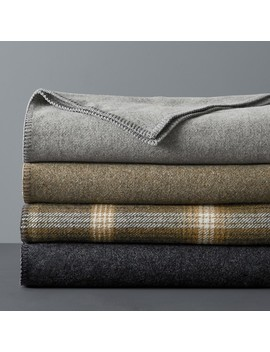 Washable Wool Blanket by Williams   Sonoma