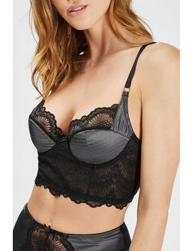 Stab Stitch Bralet by Topshop