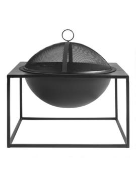 Square Steel Fire Pit by World Market
