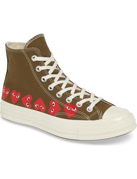 x-converse-chuck-taylor-high-top-sneaker by comme-des-garÇons-play