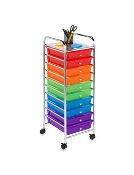 Honey Can Do® Steel 10 Drawer Rolling Storage Cart by Bed Bath And Beyond