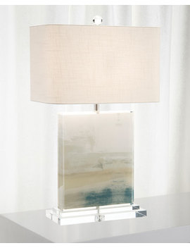 John Richard Collection Slated Table Lamp  by John Richard Collection