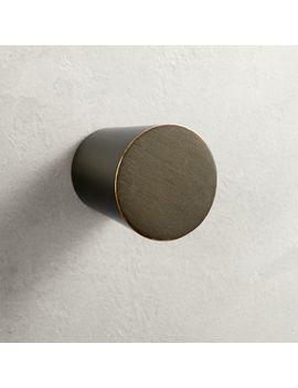 Taper Bronze Knob by Crate&Barrel