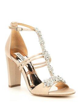 Laney Block Heel Dress Sandals by Badgley Mischka