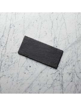 "Slate 12""X5.5"" Cheese Board by Crate&Barrel"