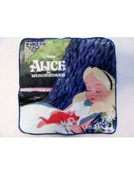 Alice In Wonderland Mini Handkerchief Towel Soft Cute Disney Japan by Ebay Seller