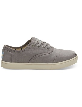 Morning Dove Heritage Canvas Women's Cupsole Cordones Sneakers Venice Collection by Toms