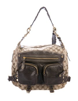 Gg Canvas Darwin Convertible Backpack by Gucci