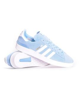Adidas Campus Adv (Clear Blue/White/White) Men's Skate Shoes by Ambush Board Co