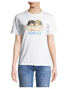 Vintage Angels Graphic Crewneck Tee by Fiorucci
