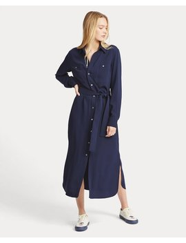 Crepe Shirtdress by Ralph Lauren