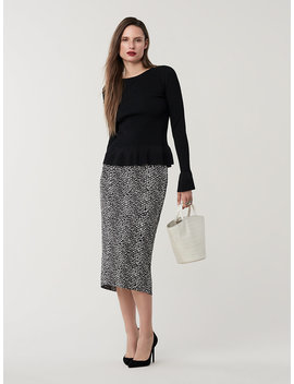 Kara Pencil Skirt by Dvf