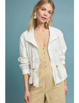 Eyelet Anorak by Anthropologie
