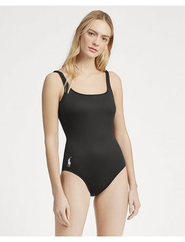 Scoopback One Piece Swimsuit by Ralph Lauren