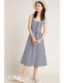 Gingham Midi Dress by Seen Worn Kept