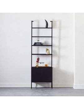 """Stairway Black Cabinet 96"""" by Crate&Barrel"""