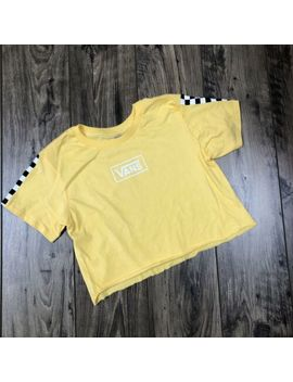 "Vans Women's Crop Top Shirt ""New"" With Defect Sz. Xs by Vans"