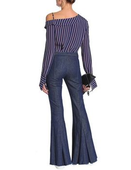 High Rise Flared Jeans by Maggie Marilyn