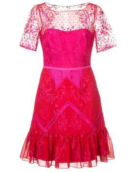 Short Lace Dress by Marchesa Notte
