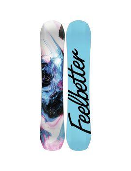 Feel Better Snowboard   Women's by Bataleon