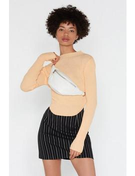 In Your Own Line Pinstripe Mini Skirt by Nasty Gal