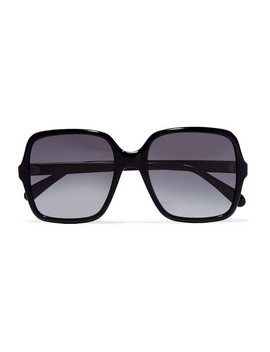 Oversized Square Frame Acetate Sunglasses by Givenchy