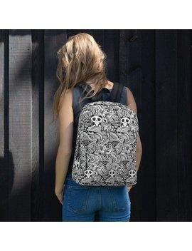 Doodle Design Backpack, Panda Backpack, Back To School Gift, Gift For Him, Gift For Her, Artistic Backpack by Etsy