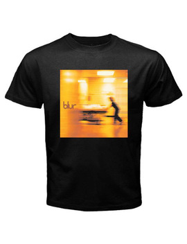 New Blur English Rock Band Album Cover Men's Black T Shirt Size S To 3 Xl by Ali Express