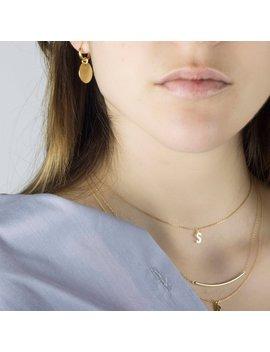 Disk Gold Earrings, Hoop Earrings Coin Drop, Dainty Gold Hoop Earrings, Hoop Earrings Coin Charm, Charm Hoop Earrings, Disk Drop Hoops by Etsy