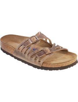 Granada Soft Footbed Leather Narrow Sandal   Women's by Birkenstock