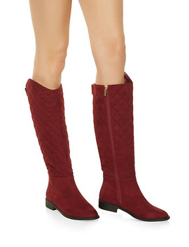 Tall Quilted Boots by Rainbow