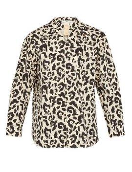 Donovan Leopard Print Cotton Shirt by Eytys
