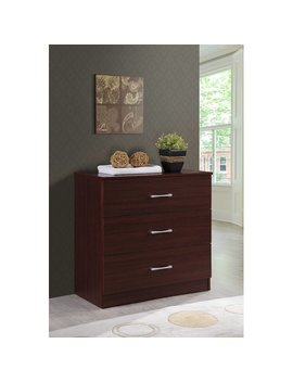 Barnett 3 Drawer Chest by Trule Teen